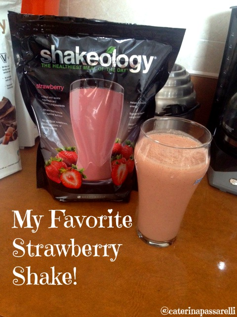 of this blog … to share with you my favorite Strawberry Shakeology ...