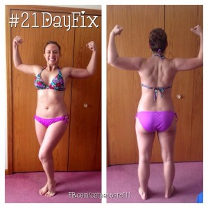 21 day fix after