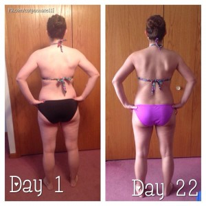 21 day fix back photos