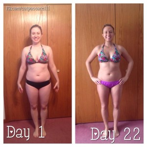 21 day fix front photos