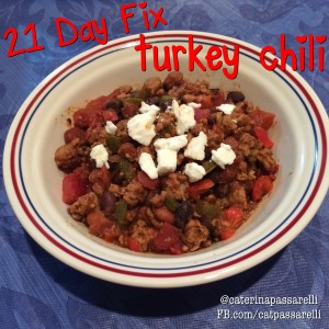how to count chili on 21 day fix