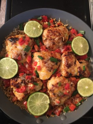 one pan southwestern chicken
